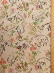 Fox in the flowers Fabric UK 80% Cotton 20% Poly material upholstered feel - Price Per Metre